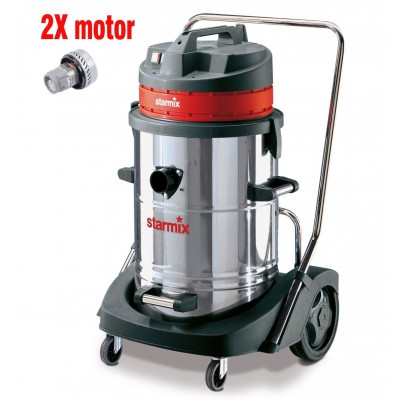 Industrial vacuum cleaner GS 2078 PZ, wet-dry with two motors